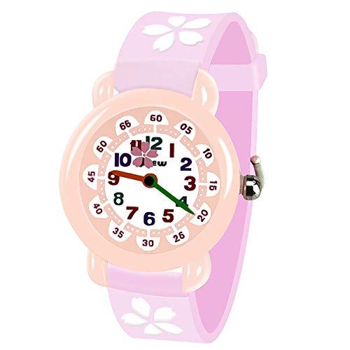 Tesoky Cute Cartoon Kids Watches 3D Waterproof Watches for Kids Present Best Popular Toys for Children Boys Girls Age 3-10
