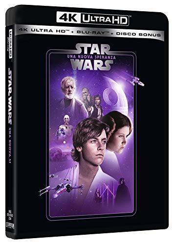 Star Wars 4 Una Nuova Speranza Uhd 4K (3 Blu Ray)
