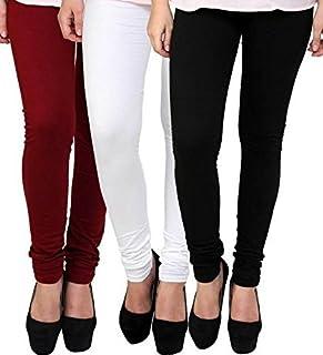 Ezee Sleeves Women's Regular Fit Leggings (Pack of 3)