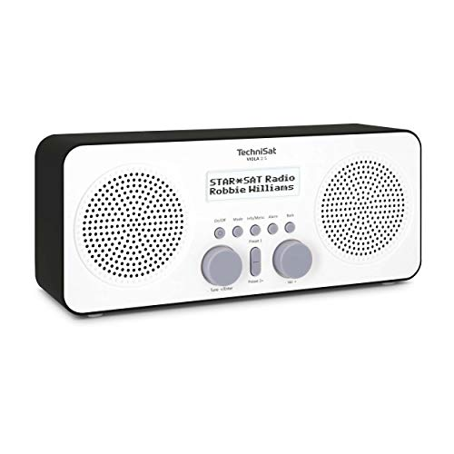 TechniSat VIOLA 2 Radio DAB portatile (DAB+, FM, Altoparlante, Headphone Jack, Display a due linee, Button Control, piccolo, 1 Watt RMS)