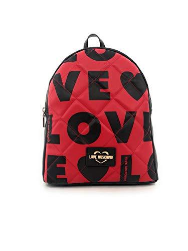 Love Moschino Rucksack Größe One Size Rot (rot-Kombi)