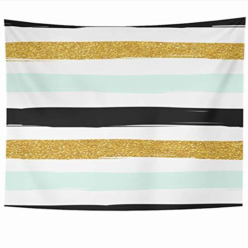 N\A Cuadrado Moderno de la Cubierta de la Almohada del Tiro Interior al Aire Libre de Las Rayas Azules y Blancas