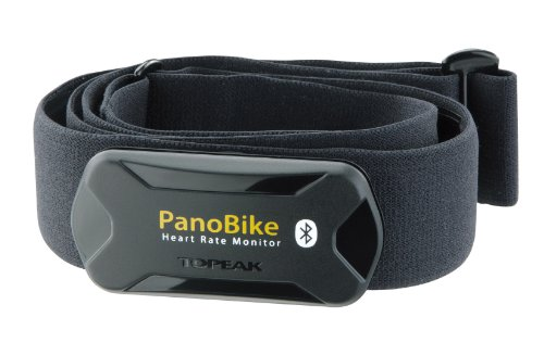 TOPEAK PanoBike Bluetooth Smart Herzfrequenzmesser für PanoBike App inkl. Brustgurt, 15800121