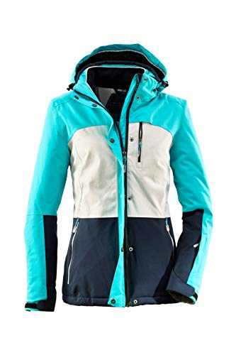 Killtec Damen Sewia Skijacke, aqua ,48 (3XL)