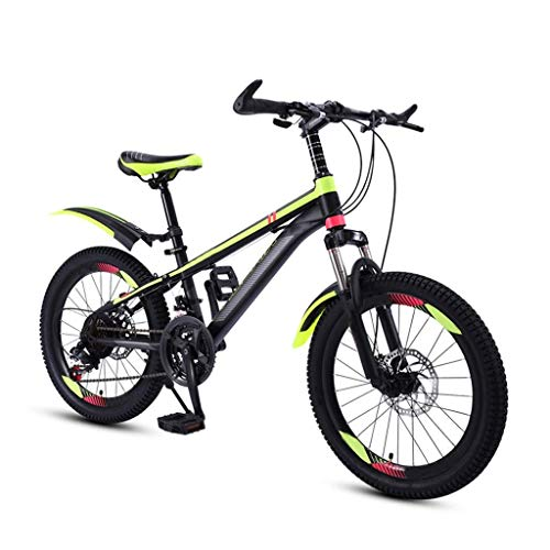 Comfort Bikes Aerobic exerciseKids Fahrrad for 6-9 Jährige, 20 22-Zoll-Räder, Mädchen Jungen Kind Mountainbikes, Freestyle Studenten Jugend Kinder Cruiser Fahrrad, 21 mit Variabler SPE ZHNGHENG