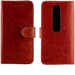 For Vodafone Smart N10 Crazy Horse Texture Horizontal Flip Leather Case with Holder & Card Slots & Wallet & Photo Frame Ne...