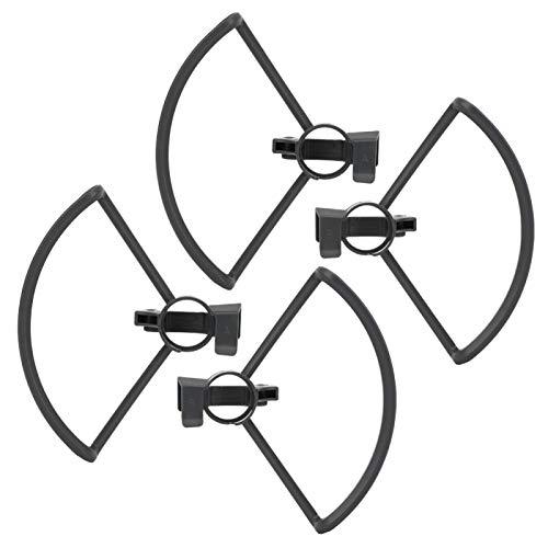 FOLOSAFENAR Protectores de hélices de Drones de Doble protección Protectores de hélices de Drones Estable con Patas de Aterrizaje Plegables Accesorio Maravilloso y práctico para su Drone RC