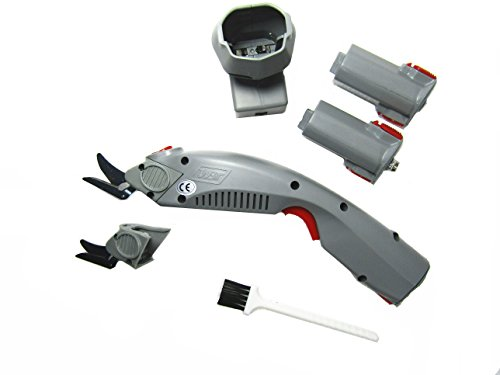 Wbt-1 Fabric Electric Scissors Cordless with 2 Blades and 2 Batteries