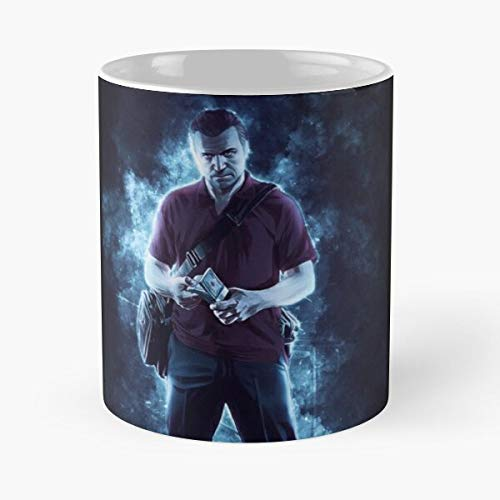 5TheWay Michael GTA Mug Best 11 oz Kaffeebecher - Nespresso Tassen Kaffee Motive