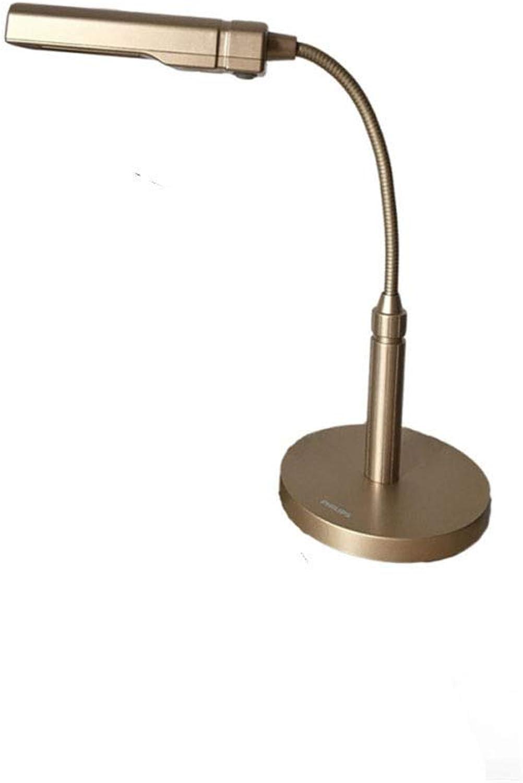 Skoy iyue LED Tischlampe Augenschutz Arbeit Lernen Falten Kreativ,C-Silber