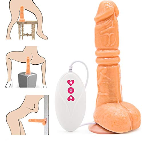 Dildɔs' Ví'bratór Waterproof Handsfree Wireless Remote Control with Multi Powerful Vibration Thrûstińg Sêx Machines for Women Penî's Wand M-áššágēr