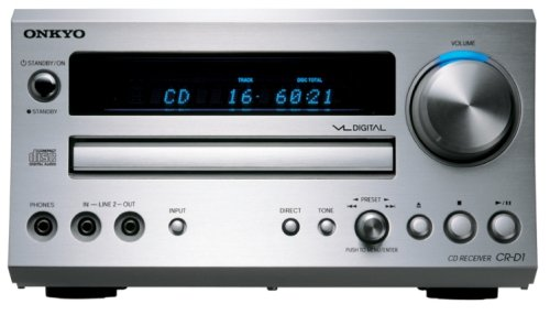 ONKYO CD/FMチューナーアンプ 60W+60W CR-D1(S) /シルバー