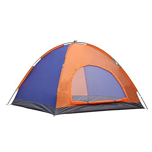 Tente Pop up Automatique extérieur Portable Camping et randonnée Tentes Travel Double Door Camping Tent,Survival in The Wild, Ultra-Light, Riding, Adventure, Picnic,200 * 150 * 110cm