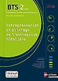 Entrepreneuriat et pilotage de l'entreprise hôtelière (EPEH) - 2e année BTS MHR
