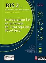 Entrepreneuriat et pilotage de l'entreprise hôtelière (EPEH) - 2e année BTS MHR de Marie-Claire Auffray