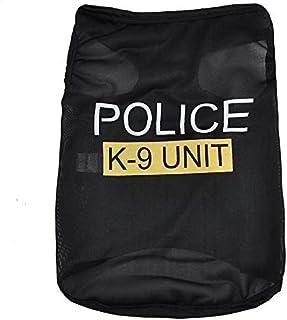 ZCHIKO Fashion POLICE Pet Clothes Dog Pet Vest Puppy Printed Cotton T Shirt. Size_S