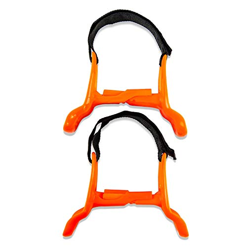 Proguard Skateez Skate Enablers, Ice Skate Trainers for Kids, Ages 3-8 (1 Pair), Orange
