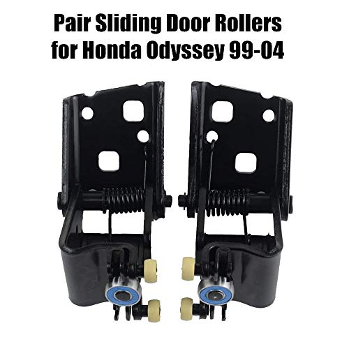 72560-S0X-A53 72520-S0X-A53 Pair Sliding Door Roller Assembly for 1999-2004 Honda Odyssey 5-Door 3.5L Left & Right