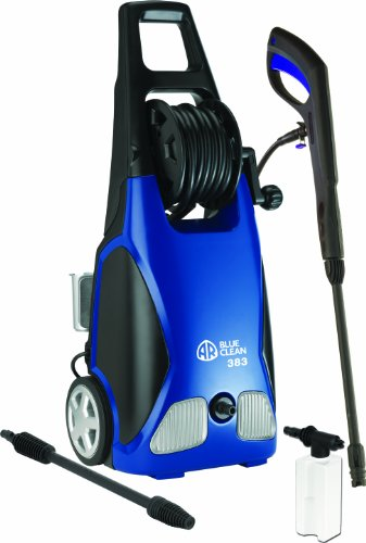 AR Blue Clean, AR383 1,900 PSI Electric Pressure Washer, Nozzles, Spray Gun,...