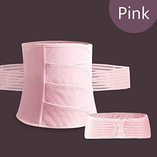 3 In 1 Atmungsaktiv Postpartale Unterstützung Postpartale Gürtel Erholung, Bauch Slim Wrap Gürtel, Postnatale Damen Body Shaper, Atmungsaktiv