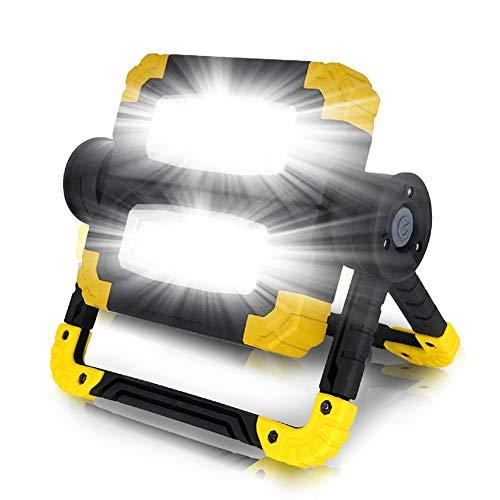 Luce del Lavoro - Brightest LED Searchlight, Portatile Spotlight Impermeabile, per La Riparazione Auto, Uso Domestico E di Emergenza - di Alta qualità