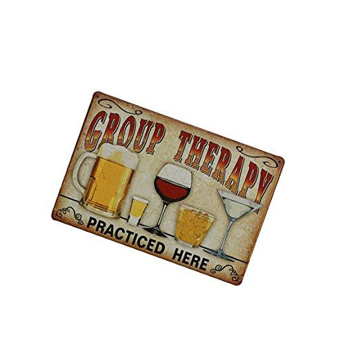 Vintage Metall Blechschild Plaque Wandkunst Plakat Blatt Café Bar Pub Bier - 06