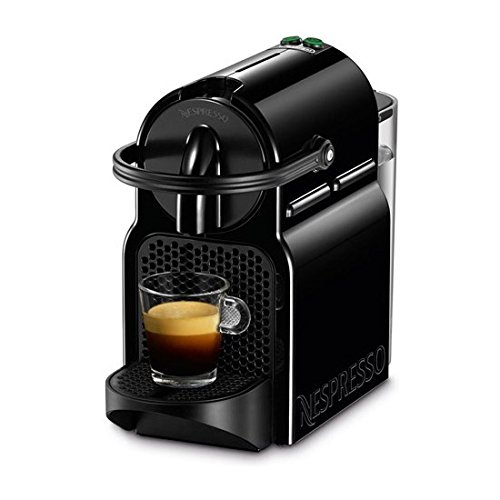 DeLonghi Nespresso Inissia EN 80b-cafetera Kapseln, 19bar, kompakt, automatische Abschaltung, Farbe Black