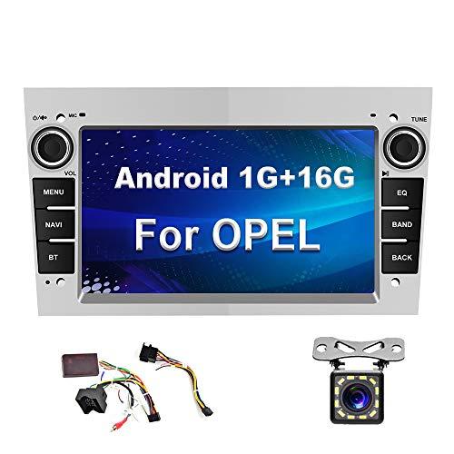 Autoradio Android per Opel GPS CAMECHO Touch screen da 7 pollici Autoradio WIFI FM Dulica Schermo Bluetooth Doppio lettore USB per Astra Corsa Vectra Zafira con fotocamera