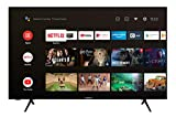 Techwood U50XA53B 50 Zoll Fernseher (Android TV inkl. Prime Video / Netflix / YouTube, 4K UHD mit Dolby Vision HDR / HDR 10 + HLG, Bluetooth, Triple-Tuner) [Modelljahr 2020]
