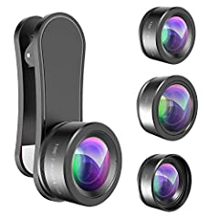 【Premium Quality】 : Unlike cheaper phone lens, the phone Lens kit is designed with industrial grade aluminum along with premium optic lenses, so you can capture shots with amazing clarity and detail while being confident knowing they'll last. No more...