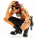 kyman Regalo One Piece Manga Ace PVC Acción Ace Fire Devil Fruit Figure Toy One Piece Anime Mera Mer...