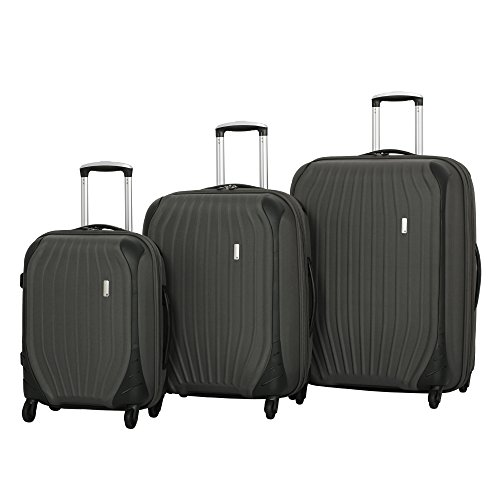it luggage Impact Frameless 4 Wheel Spinner Set, Dark Gull Grey