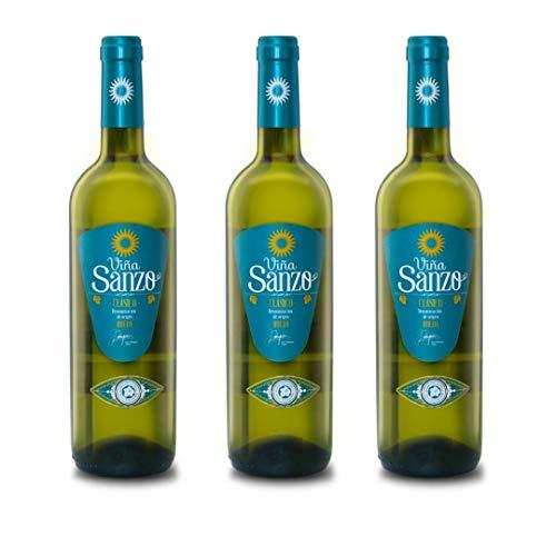 Viña Sanzo Clásico Vino Blanco Viñas Viejas - 3 Botellas - 2250 ml