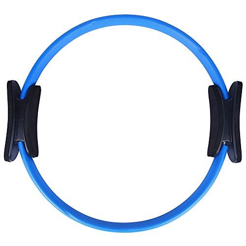 Kottle Pilates Ring Power resistenza completo corpo tonificante Fitness cerchio, 38cm Dual Grip anello per Pilates, Yoga