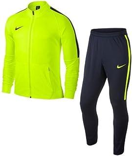 cbc997855416e Survêtement Unisexe Nike Dry-Fit Squad 17 enfant jaune fluo/marine
