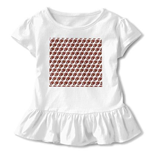 Niñas Manga Corta Fútbol Tickle Zone Camiseta de Manga Corta para niños Unisex Ropa de Escalada para bebés Monos Mameluco Manga Corta Onesies Ligeros Negro