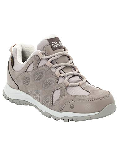 Jack Wolfskin Damen Rocksand Texapore Walking-Schuh, Moon Rock, 38 EU