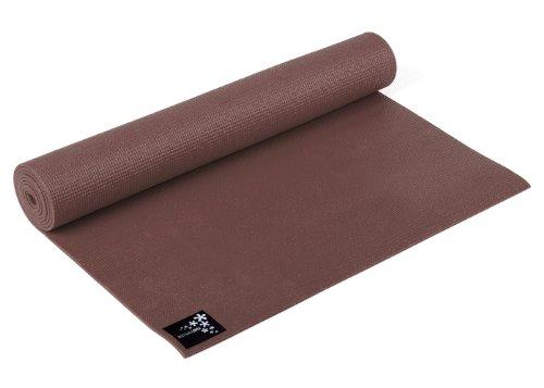 Yogistar Basic Materassino da Yoga, Marrone (Choco Brown)