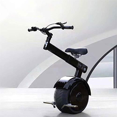 CTO Rollstuhl Elektrisches Einrad Einrad Roller 800W Motor, Einrad Selbstausgleich Smart Scooter mit Lenker, Bremse/Somatosensorische Steuerung, 67,2 V, 264 Wh, 22 kg Gewicht,25km