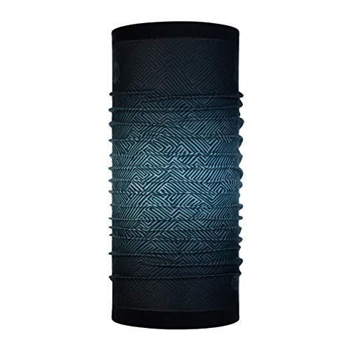 Buff Tolui Tour de Cou Reversible Polaire Homme Noir FR : Taille Unique (Taille Fabricant : Taille One sizeque)