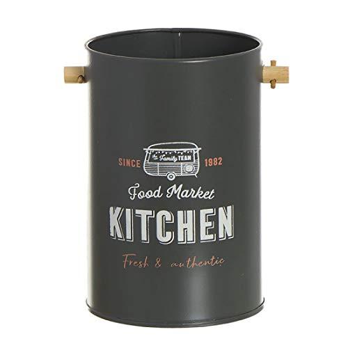 Home Gadgets Bote Utensilios de Cocina Metal Food Truck 15 cm