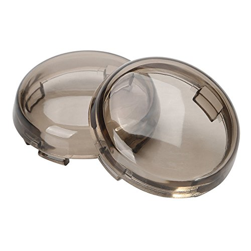 ZYTC Smoked Harley Turn Signal Lens Covers Lenses for Harley-Davidson Pack of 2