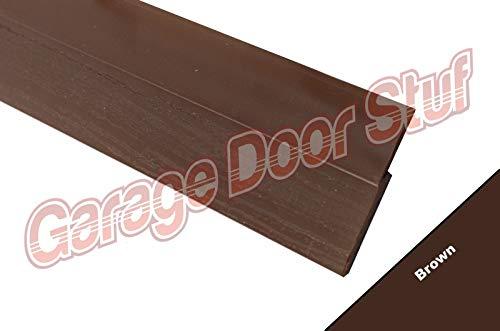 Find Bargain Garage Door Weather Seal Side & Top Seal-for Any Single/Double CAR Door (2 Car Kit, Bro...