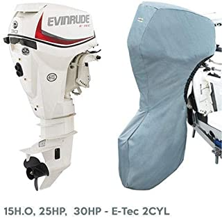 Oceansouth Evinrude Outboard Storage Full Cover E-Tec 2CYL 15H.O, 25HP, 30HP 20
