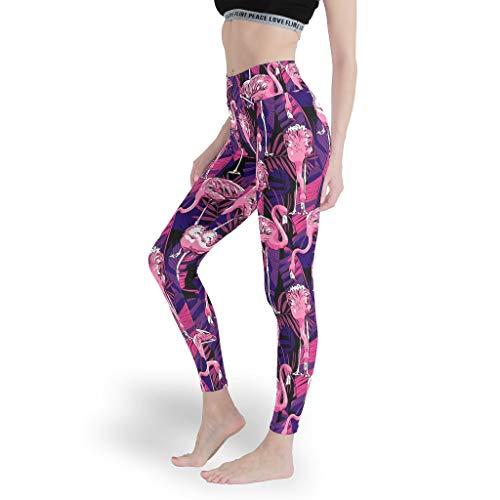 Mädchen Kunst Leggings Weich Gedruckt Yoga Hosen Hohe Taille Capris Tights für Gym White m
