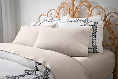 Magnolia Organics Percale Collection Sheet Set - Twin, Morning Sky