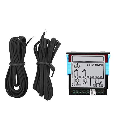 AC 220 V 5A Allzweck Digital Temperatur Differenzregler Differenzial Thermostat mit Sensor Sonde für Solar Wasser Heizung