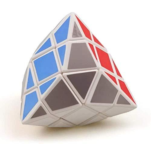 HSJDP Variedad del Fibra Carbono magico Educativo Best Ghost Cube Speed Collection Magic Pack Mirror Box Puzzle Profesional 3x3x3