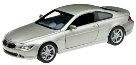 Hot Wheels B3243 - BMW Serie 6 Coupé, Platinum Edition, 1:18