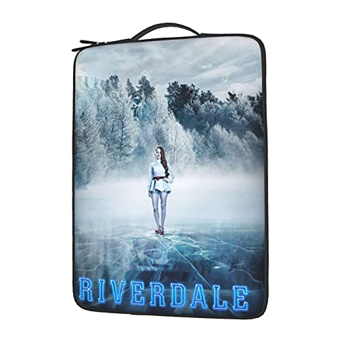 Riverdale Laptop Case Laptop Shoulder Bag,Multi-Functional Notebook Sleeve Carrying Case is Compatible with Any Model of 13 14 15.6 inch Laptop Sleeveanti-Collision Anti-Shock 15.6 Inch